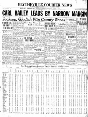 The Courier News from Blytheville, Arkansas on August 12, 1936 · Page 1