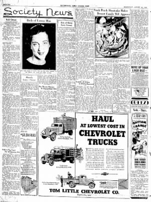 The Courier News from Blytheville, Arkansas on August 12, 1936 · Page 2