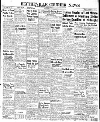 The Courier News from Blytheville, Arkansas on June 14, 1946 · Page 1