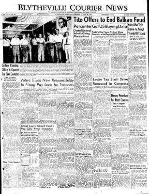 The Courier News from Blytheville, Arkansas on August 23, 1949 · Page 1