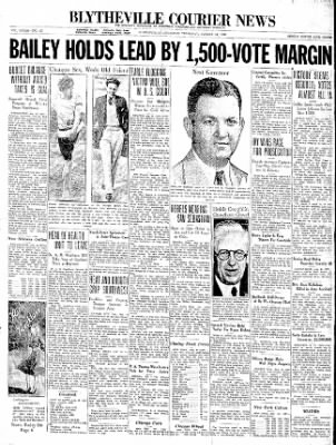 The Courier News from Blytheville, Arkansas on August 13, 1936 · Page 1