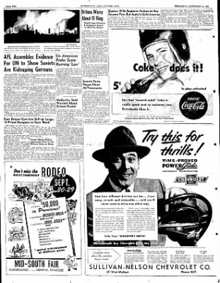 The Courier News from Blytheville, Arkansas on September 19, 1951 · Page 2