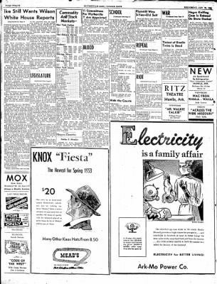 The Courier News from Blytheville, Arkansas on January 21, 1953 · Page 12