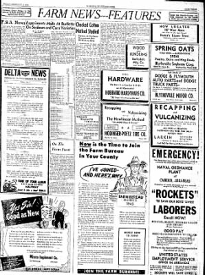 The Courier News from Blytheville, Arkansas on February 2, 1945 · Page 3