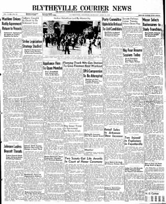 The Courier News from Blytheville, Arkansas on June 15, 1946 · Page 1