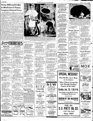 The Courier News from Blytheville, Arkansas on January 23, 1953 · Page 2