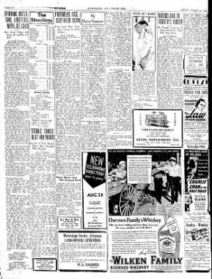 The Courier News from Blytheville, Arkansas on August 14, 1936 · Page 6