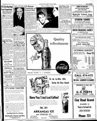 The Courier News from Blytheville, Arkansas on May 14, 1947 · Page 9