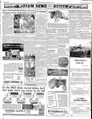 The Courier News from Blytheville, Arkansas on January 23, 1953 · Page 8