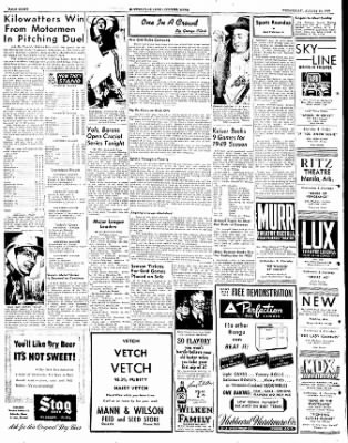 The Courier News from Blytheville, Arkansas on August 24, 1949 · Page 8