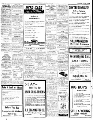 The Courier News from Blytheville, Arkansas on August 24, 1949 · Page 10