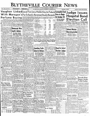 The Courier News from Blytheville, Arkansas on August 25, 1949 · Page 1