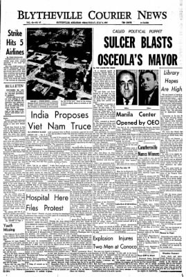 The Courier News from Blytheville, Arkansas on July 8, 1966 · Page 1
