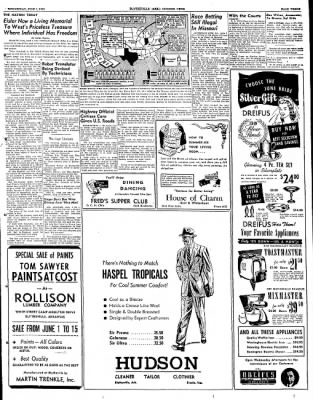 The Courier News from Blytheville, Arkansas on June 1, 1949 · Page 3