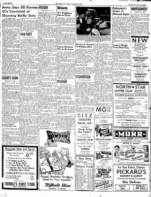 The Courier News from Blytheville, Arkansas on January 24, 1953 · Page 8