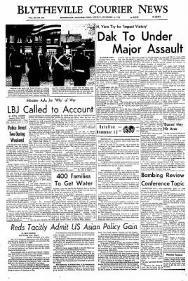 The Courier News from Blytheville, Arkansas on November 13, 1967 · Page 1