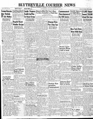 The Courier News from Blytheville, Arkansas on May 19, 1947 · Page 1