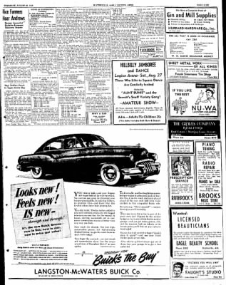The Courier News from Blytheville, Arkansas on August 25, 1949 · Page 9