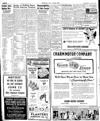 The Courier News from Blytheville, Arkansas on June 19, 1946 · Page 6