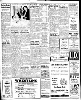The Courier News from Blytheville, Arkansas on May 19, 1947 · Page 6