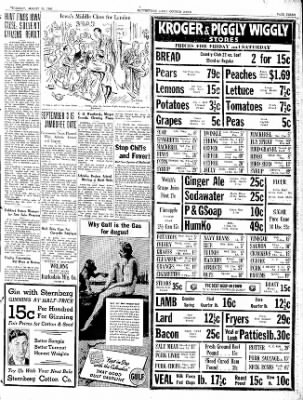 The Courier News from Blytheville, Arkansas on August 20, 1936 · Page 3