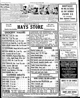 The Courier News from Blytheville, Arkansas on June 20, 1946 · Page 11