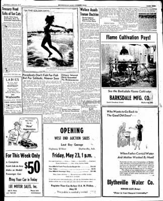 The Courier News from Blytheville, Arkansas on May 20, 1947 · Page 9