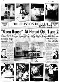 Sample The Clinton Herald front page