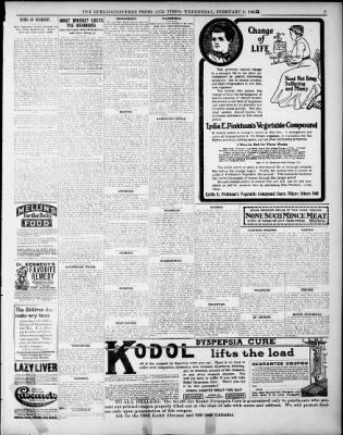 The Burlington Free Press from Burlington, Vermont on February 8, 1905 · Page 9