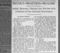 1935 editorial arguing that all of President Roosevelt's