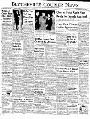 The Courier News from Blytheville, Arkansas on January 28, 1953 · Page 1