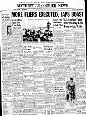 The Courier News from Blytheville, Arkansas on July 15, 1944 · Page 1