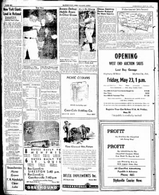 The Courier News from Blytheville, Arkansas on May 21, 1947 · Page 6