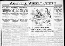 The Asheville Weekly Citizen