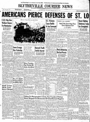 The Courier News from Blytheville, Arkansas on July 17, 1944 · Page 1