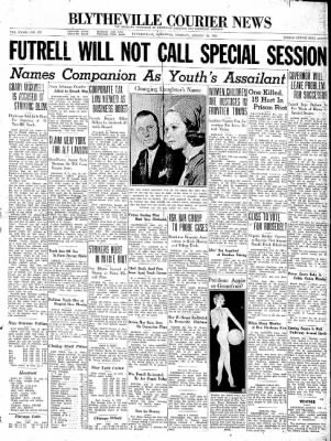 The Courier News from Blytheville, Arkansas on August 25, 1936 · Page 1