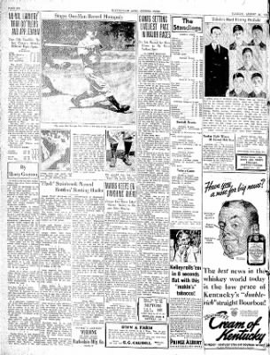 The Courier News from Blytheville, Arkansas on August 25, 1936 · Page 6