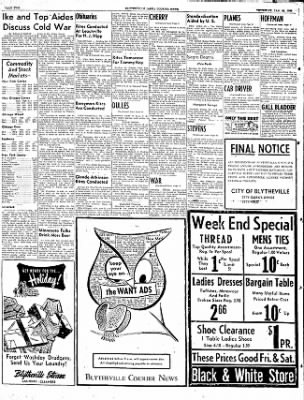 The Courier News from Blytheville, Arkansas on January 29, 1953 · Page 2