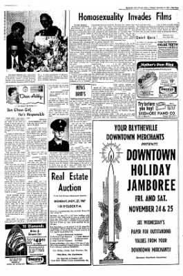 The Courier News from Blytheville, Arkansas on November 21, 1967 · Page 3