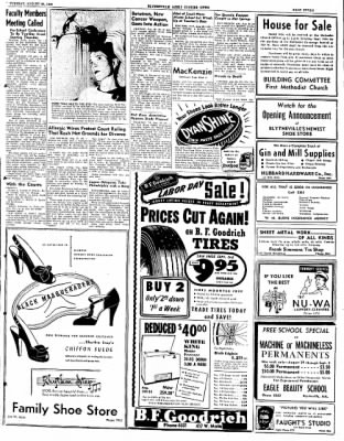 The Courier News from Blytheville, Arkansas on August 30, 1949 · Page 7