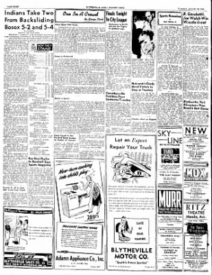 The Courier News from Blytheville, Arkansas on August 30, 1949 · Page 8