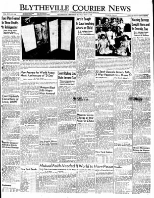 The Courier News from Blytheville, Arkansas on June 6, 1949 · Page 1