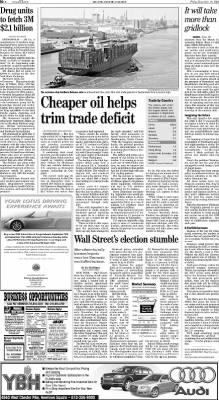 The Philadelphia Inquirer from Philadelphia, Pennsylvania on November 10, 2006 · Page D02