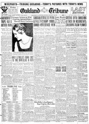 Oakland Tribune from Oakland, California on March 10, 1935 · Page 1