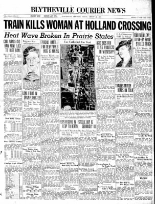 The Courier News from Blytheville, Arkansas on August 28, 1936 · Page 1