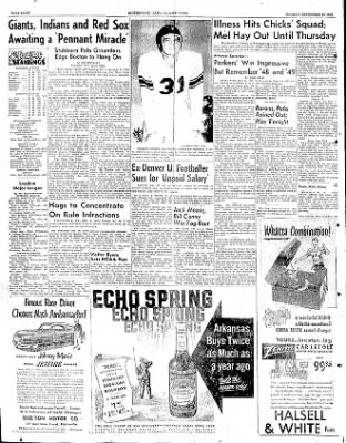 The Courier News from Blytheville, Arkansas on September 25, 1951 · Page 10