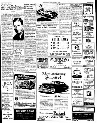 The Courier News from Blytheville, Arkansas on June 6, 1949 · Page 7