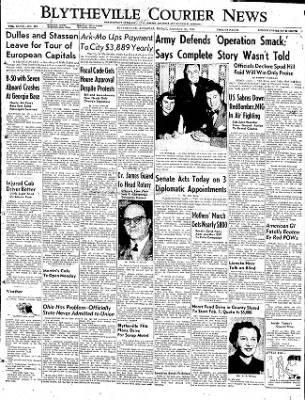 The Courier News from Blytheville, Arkansas on January 30, 1953 · Page 1
