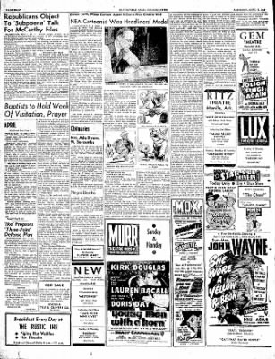 The Courier News from Blytheville, Arkansas on April 1, 1950 · Page 8