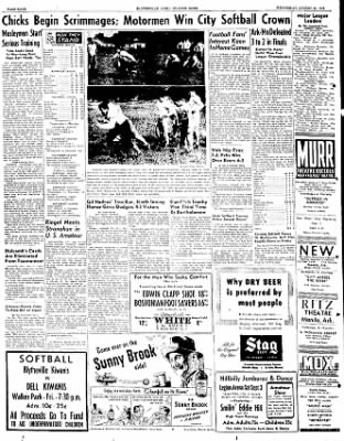 The Courier News from Blytheville, Arkansas on August 31, 1949 · Page 8